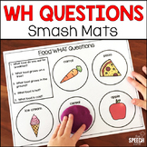 WH Questions Smash Mats in Color and BW