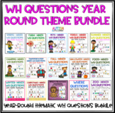 WH Questions for Little Learners GROWING Bundle