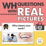 WH Questions with Real Pictures: Targeting Who, What, Wher