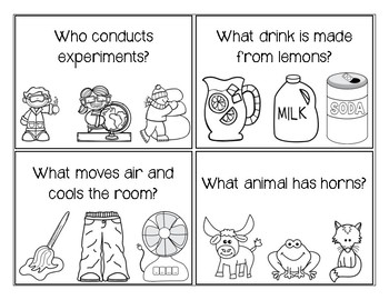 WH Questions with Visual Answers