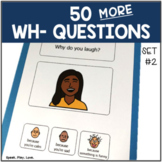 Answering WH Questions with Visuals [Set #2] Speech Therap