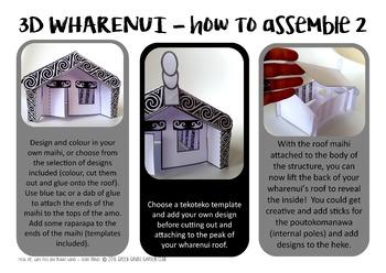 WH = Wharenui {Kiwiana Themed 'Make & Take' Alphabet Set}