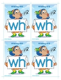 WH (Whistling Whit) Word Buddy Card
