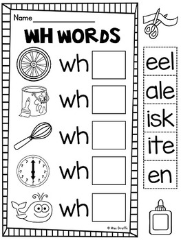Exercises Wh question words | fely | Pinterest | Wh questions ...