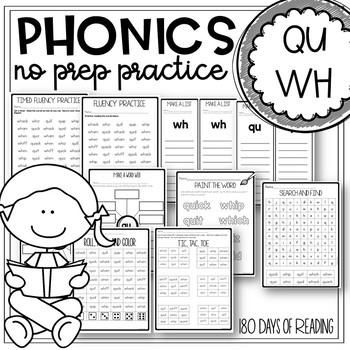 Qu Worksheets | Teachers Pay Teachers