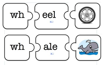 WH- digraph puzzles