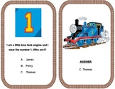 WH flashcards - Thomas