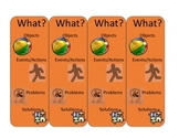 WH question book marks