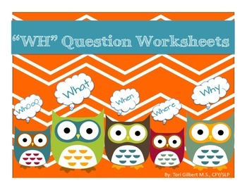WH question worksheets