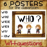 WH-questions - Posters and reference sheet – Harry Potter-themed