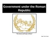 WH001 Government under the Roman Republic