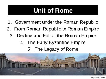 WH1 Complete Unit of Rome
