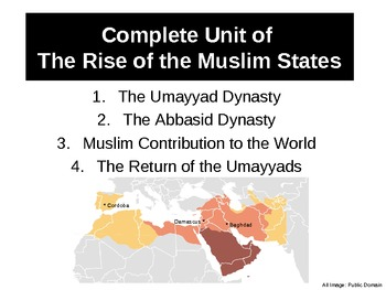 WH3 Unit of The Rise of the Muslim States