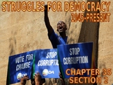 W35.2 - Democratic Challenges in Africa - PowerPoint Notes