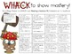 "WHACK a Standard Pack! ~ 5th Grade ~ ELA Common Core ""I Ca"