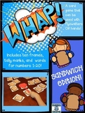 WHAP!  A Number Identification Activity
