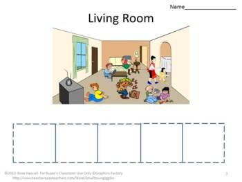 What Belongs Where Classification Kindergarten  Special Education Life Skills