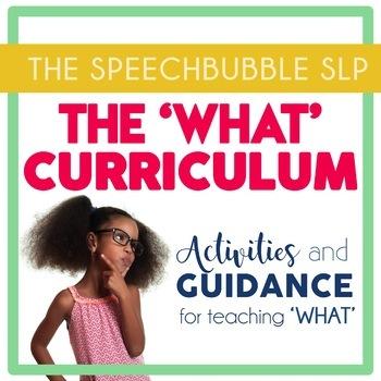 WHAT Curriculum