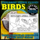 Animal Classes for K-3: WHAT IS A BIRD? (Cut-and-Glue Science)