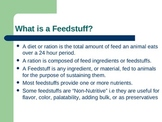 WHAT IS A FEEDSTUFF