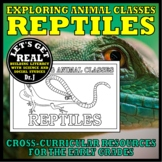 Animal Classes for K-3: WHAT IS A REPTILE? (Cut-and-Glue Science)