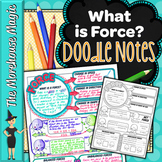 What is Force Doodle Notes   Science Doodle Notes