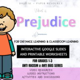 WHAT IS PREJUDICE // Intro lesson for primary grades // An
