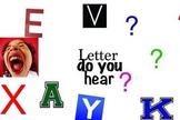 WHAT LETTER DO YOU HEAR , PHONIC SONG.