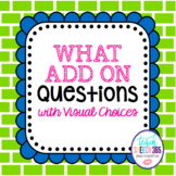 WHAT Questions With Visuals ADD-ON