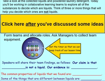 WHAT'S THE MATTER: YEAR 5 Primary Connections Chemical Sciences