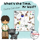 WHAT'S THE TIME MR WOLF - COOTIE CATCHER