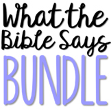 BIBLE DISCOVERY FOR TEENS Brochure Projects Activity BUNDLE
