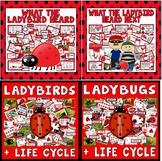 WHAT THE LADYBIRD HEARD STORY STORIES, LADYBIRDS, LADYBUGS LIFE CYCLE