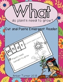 WHAT do plants need to grow? Emergent Reader