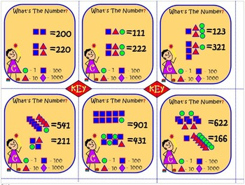 Number Recognition and Place Value: WHAT'S THE NUMBERS? Task Cards That Work!