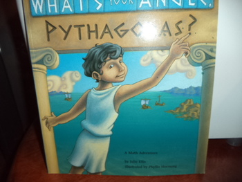 WHATS YOUR ANGLE PYTHAGORAS   ISBN 13-978-1-57091-150-7