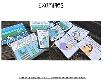 WHEELS ON THE BUS BOOK! - Cut and Paste Craft Templates - 6 Projects in 1!!