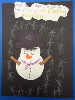 WHEN IT SNOWED... Class Book Activity