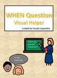 WHEN Question Visual Helper