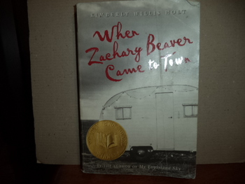 When Zachary Beaver Came to Town ISBN 0-440-22904-9
