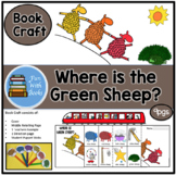 WHERE IS THE GREEN SHEEP? BOOK CRAFT