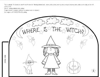 WHERE IS THE WITCH PRINTALBE