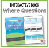 WHERE Questions – Interactive WH Question Book