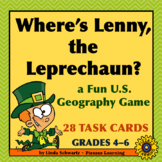 WHERE'S LENNY, THE LEPRECHAUN? • a fun U.S. Geography Game