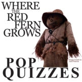 WHERE THE RED FERN GROWS 19 Pop Quizzes Bundle