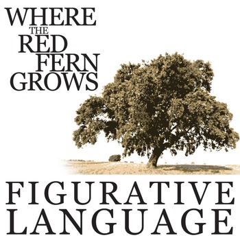 WHERE THE RED FERN GROWS Figurative Language Bundle