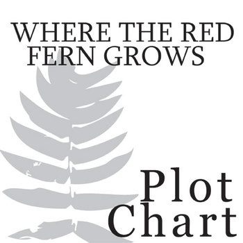 WHERE THE RED FERN GROWS Plot Chart Organizer Diagram Arc