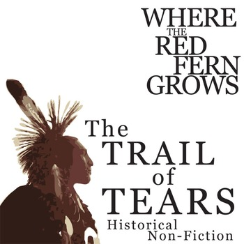 WHERE THE RED FERN GROWS Trail of Tears Historical Nonfiction