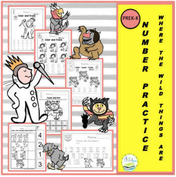 WHERE THE WILD THINGS ARE. MATH ADD-ON
