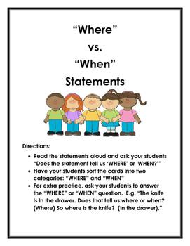 WHERE vs. WHEN Statements